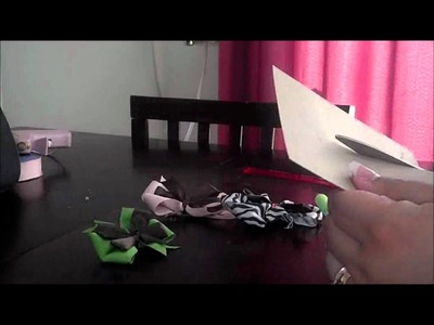 Easy Hair Bow Template Step By Step Tutorial