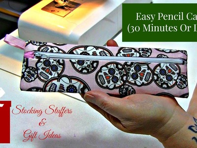 Easy Pencil Case (Stocking Stuffer.Gift Idea)