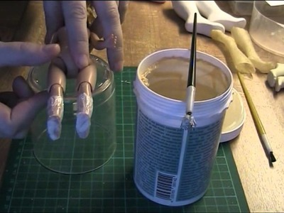 FDS Tutorial: Making latex moulds of a doll's feet