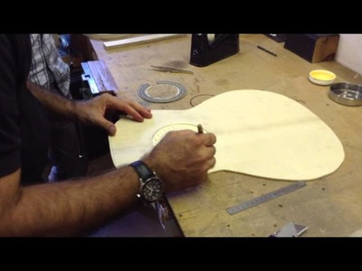Guitar making course, making the rosette, Part 2