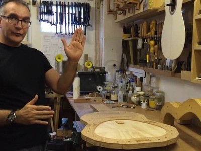 How to assemble a classical guitar with a Solera mould.