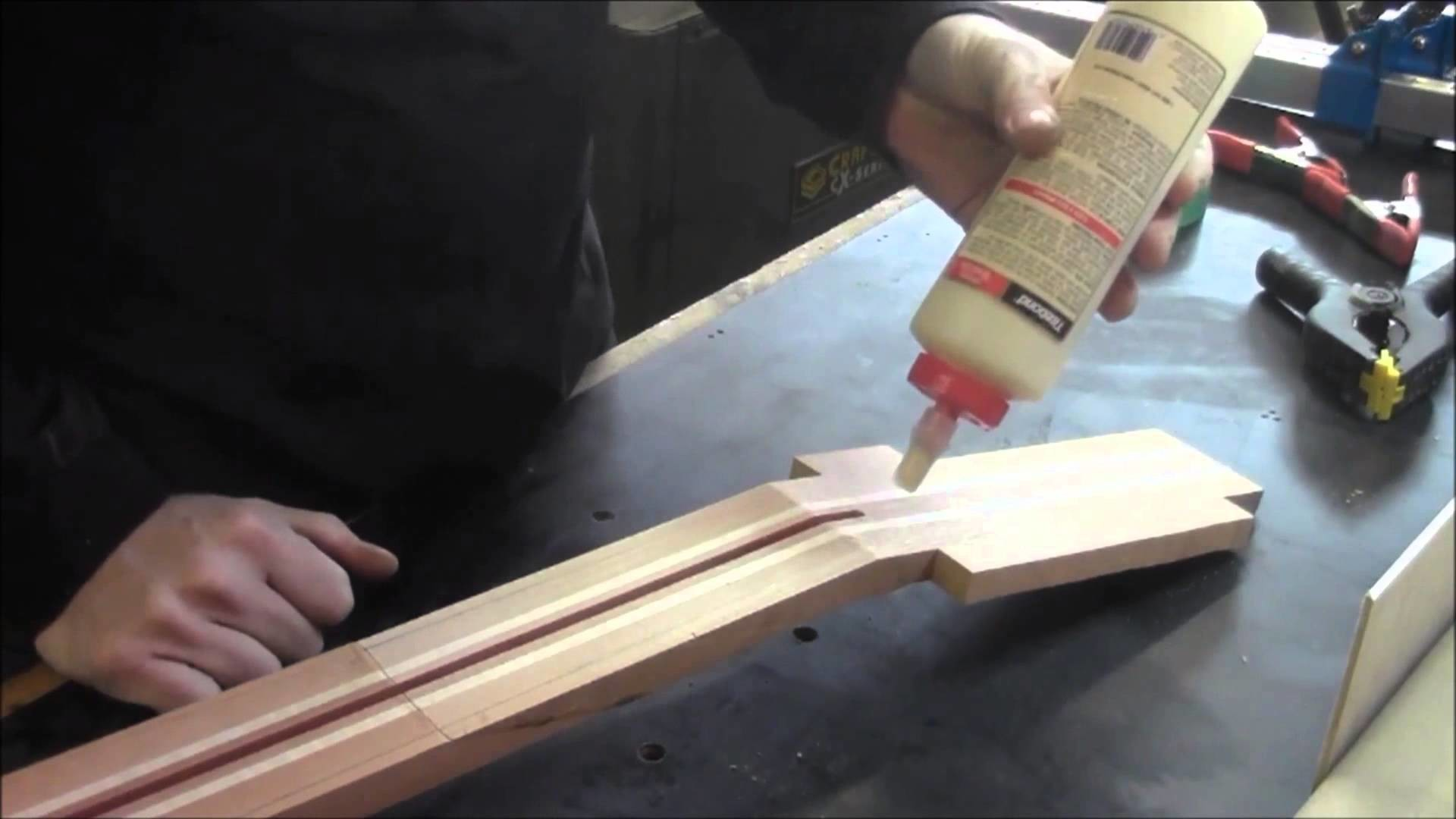 How to Build an Electric Guitar -Video 4-Headstock pt 1