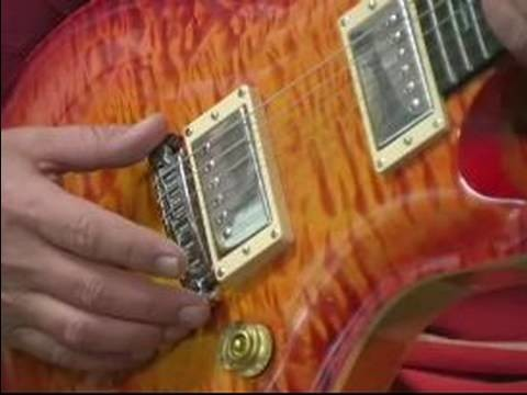 How to Build Your Own Guitar : Whammy Bar Option for Guitar Building