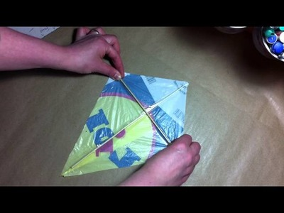 How to make a Kite from a plastic bag