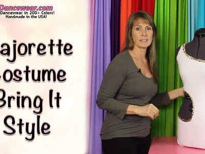 "How to Make a Majorette Costume ""Bring it Style"""