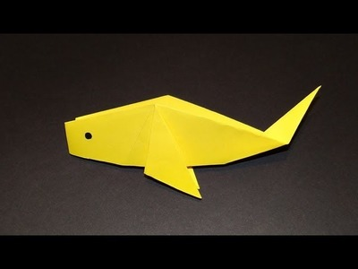 How To Make An Origami Fish 02