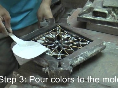 How to make cement tile