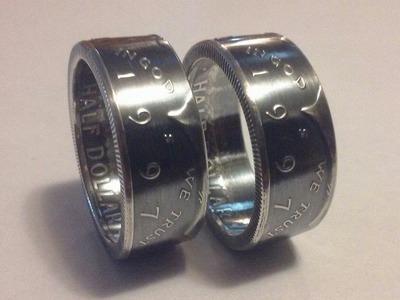 KENTUCKY DERBY: **COIN RING** Made from a silver Kentucky quarter. size 5