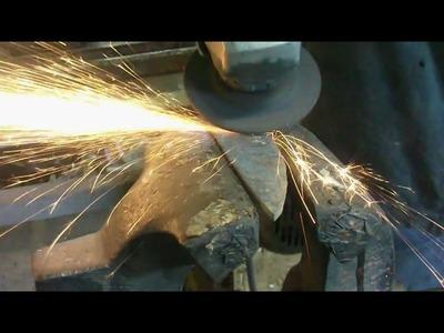 Kucie noża z damastu. Damascus steel knife making