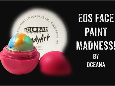 Learn How to Make an EOS Rainbow Cake for Face Painting