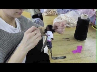 Making Once Upon A TreeHouse Flexible Dolls