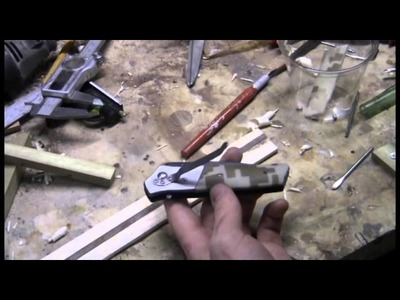 Making Wooden Knife Scales