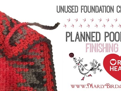 Planned Pooling Crochet Finishing Unused Foundation Chain