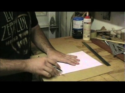 Templates. Making a Headstock Template