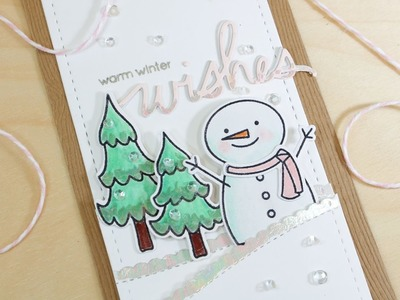 12 Tags of Christmas With A Feminine Twist - Day 3 Foiled with Carissa Wiley and Pretty Pink Posh