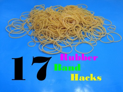 17 Awesome Rubber Band Hacks - Hacks For Real Life