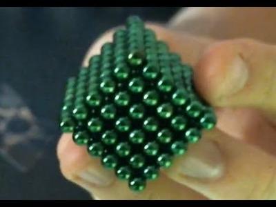 216 neodymium spheres - Making a cube!