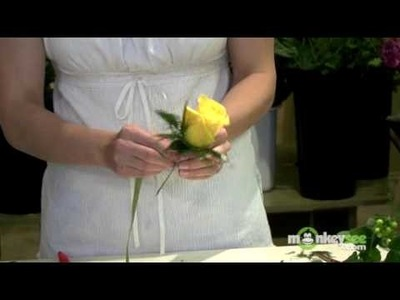 Add Accent Flowers and Greenery to Your Boutonniere