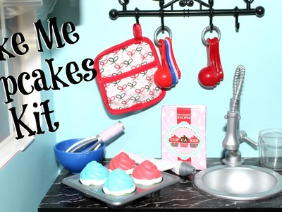 American Girl Doll Bake Me Cupcakes Review