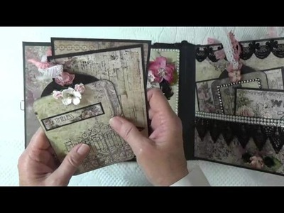 """Blue Fern Studios """"Timeless"""" Mini Album ~ DT Project For Country Craft Creations"""