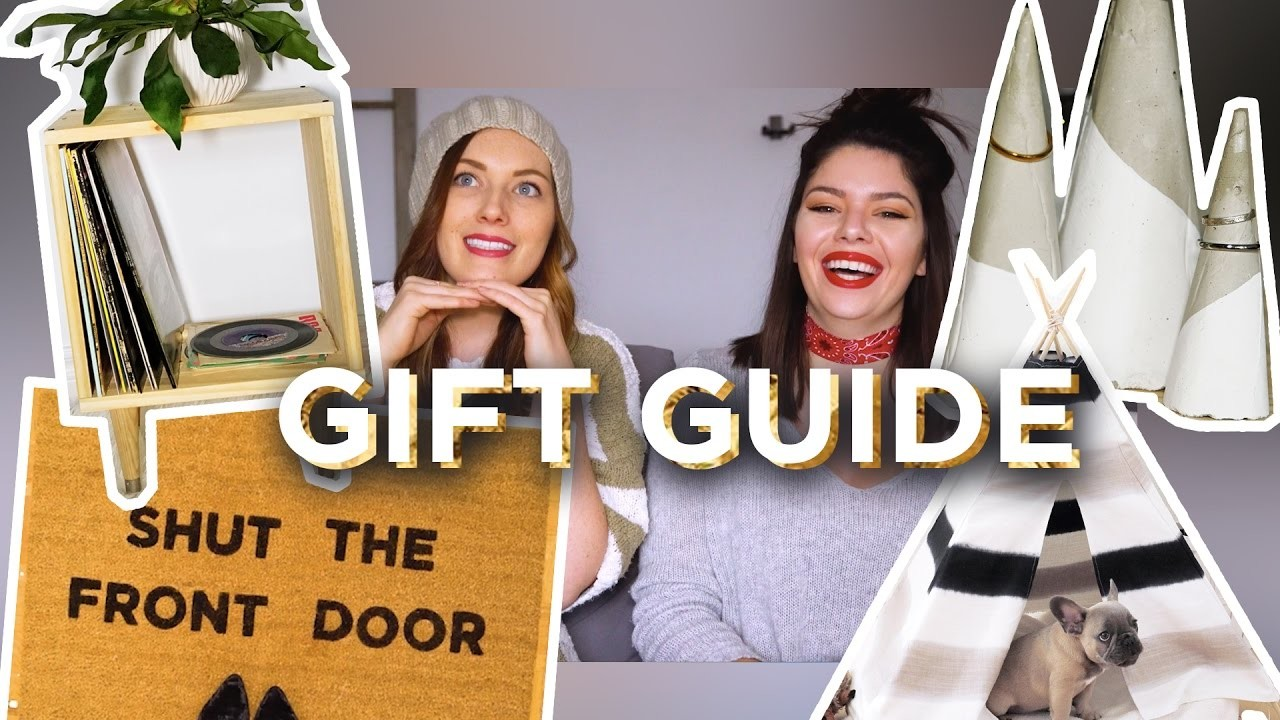 BUY OR DIY GIFT GUIDE 2016 | THE SORRY GIRLS