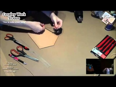 "Cosplay Work - ""Making armor"" - Worbla tutorial (part 2)"