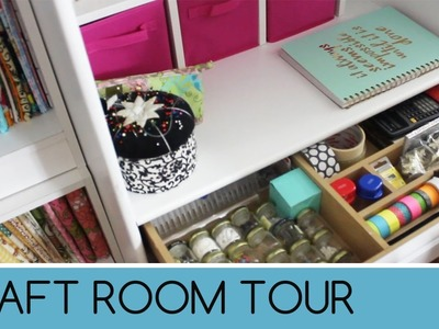 Craft Room Tour 2016