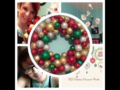 DIY: Christmas Ornament Wreath