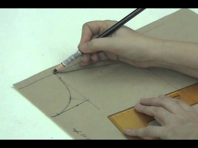 DIY Drafting of the EXTRA SMALL Front Bodice Lesson 2-4 Part 1a