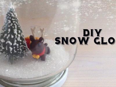 DIY Snow Globe (No Water)