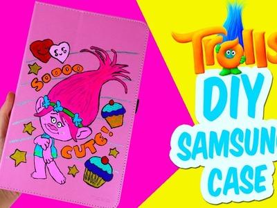 DIY Trolls Movie Poppy's Samsung Galaxy Tablet iPad Case