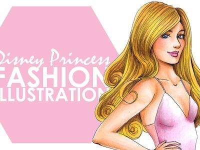 Fashion Illustration - Aurora