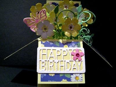 Flower Box card Tutorial