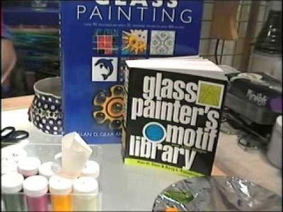 Glass Painting Basic Outlining Part 2