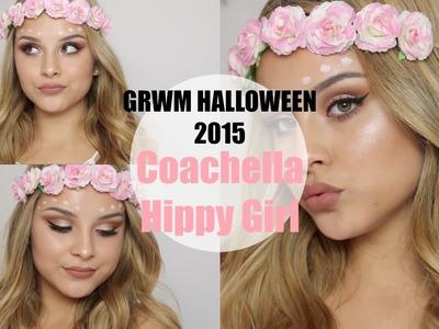 GRWM: Halloween 2015 (Coachella Hippy Girl) | Aidette Cancino