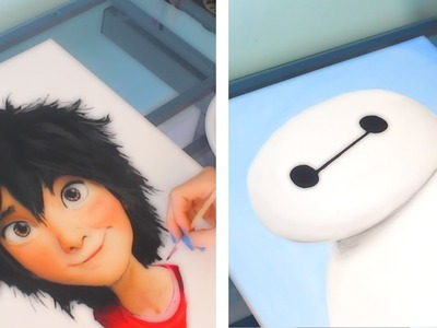 Hiro. Baymax Drawing | BIG HERO 6
