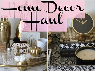 Home Decor Haul - HomeGoods, Marshall's, Target and more - NOVEMBER 2016