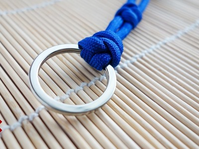 How to Attach a Key Ring with Snake Knots