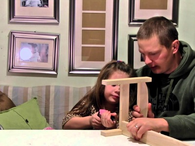How to build a doll bed - with Grace