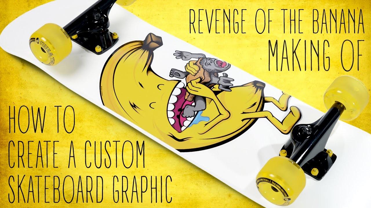 How to create a custom skateboard graphic