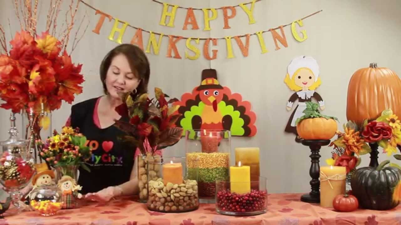 How to decorate a thanksgiving table c mo decorar la for How to decorate a thanksgiving table on a budget