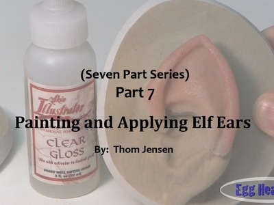 How to Make Elf Ears - Paint & Apply Elf Ears (Part 7)