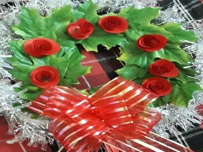 How to make Handmade Christmas Wreaths | Christmas wreath making ideas