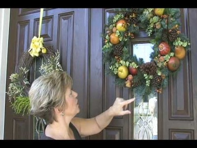 How to make your own designer wreaths and save money!