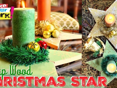 How to: Scrap Wood Christmas Star