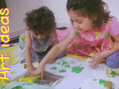 Keep Kids Busy with ART! - 5 Creative ideas | Fatema's Art Show