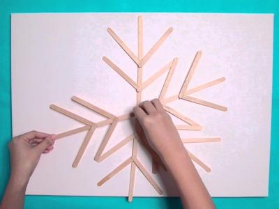 Make your festive snowflakes!
