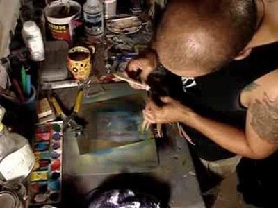 Making a leather Mask - Gary Reef (capricornartist73)
