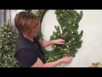 Masterclass 01: How to decorate a wreath: Fluffing
