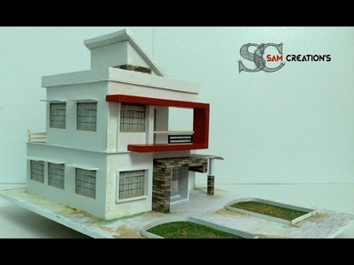 MODEL MAKING OF MODERN ARCHITECTURAL BUILDING #3